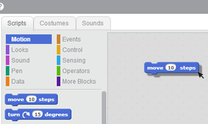 how to get constumes in scratch