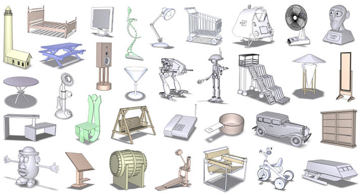 Project Upright Orientation Of Man Made Objects