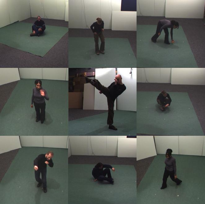 v3dr - video-based mocap retrieval