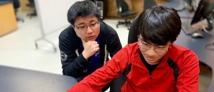 Brandon Zhang & Da Wei Zheng
