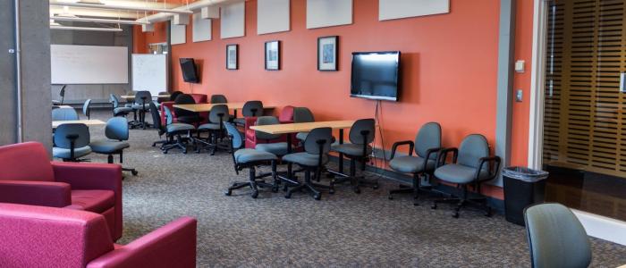 Informal space lounge