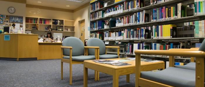 The department's Reading Room offers a great resource for all grad and undergrad research