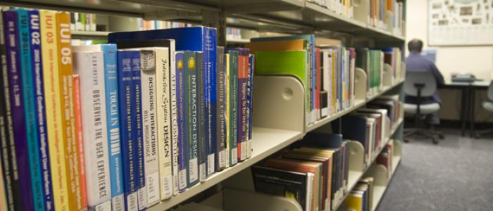 Access a current core collection of books, journals, electronic resources, theses, CD-ROMs and more.