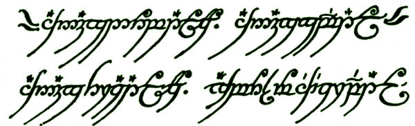 Need Some Help With An Elvish Font